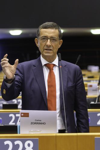 Carlos Zorrinho apela ao fim do conflito e di�logo democr�tico na Eti�pia