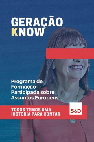 GERAÇÃO KNOW: programa de formação sobre assuntos europeus